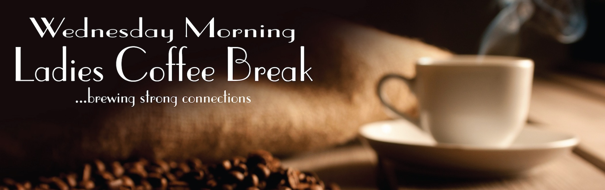 Coffee break website banner